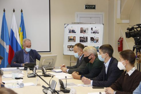 Заседание регионального правительства на заводе Диамикс